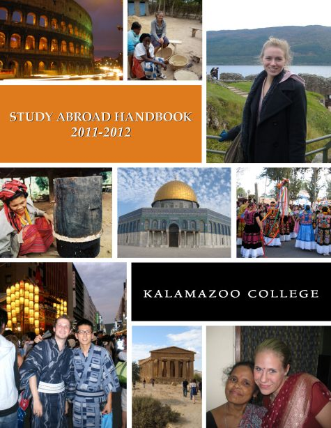 2011-2012 Study Abroad Handbook Cover