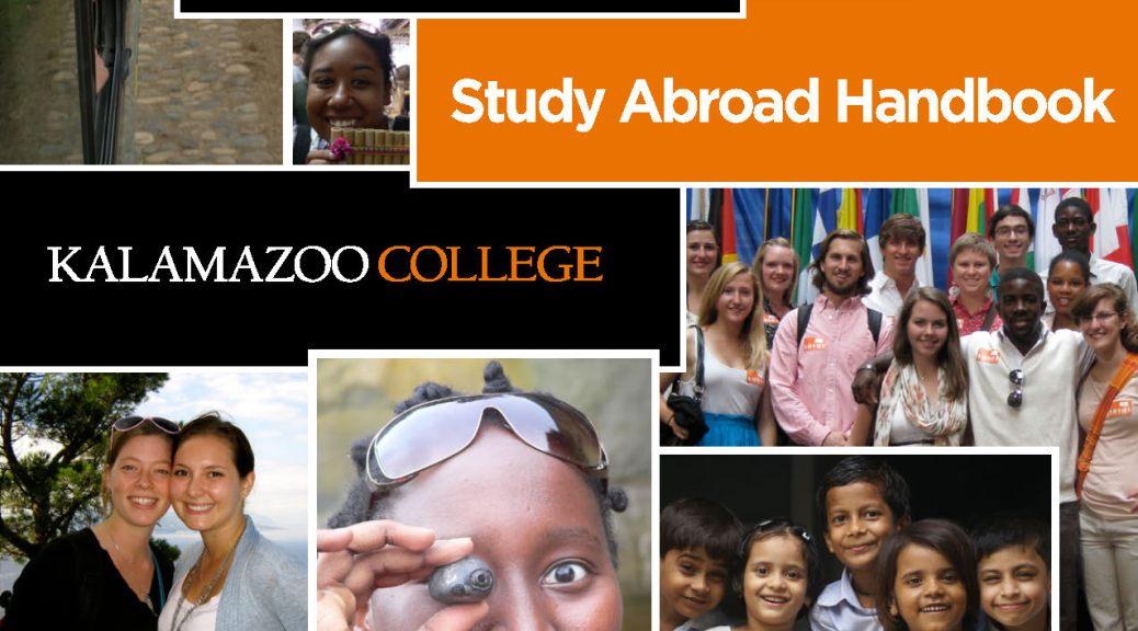 2013-2014 Study Abroad Handbook Cover