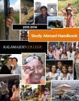 2013-2014 Study Abroad Handbook Cover