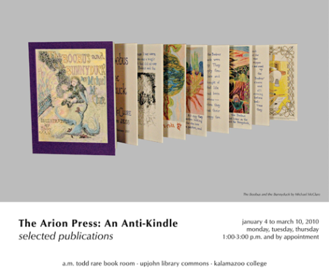 The Arion Press: An Anti-Kindle