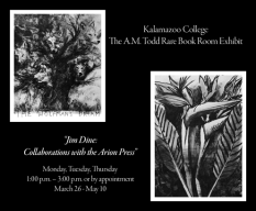Jim Dine: Collaborations with the Arion Press