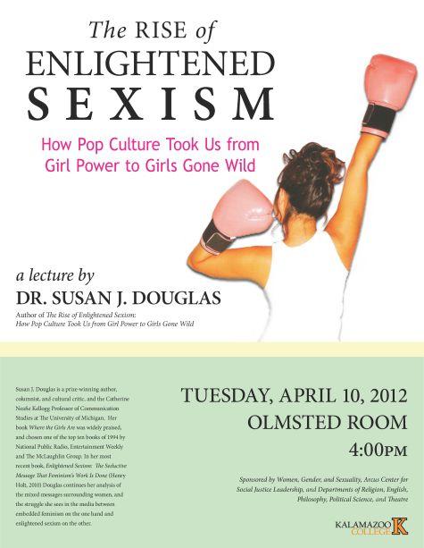 Dr. Susan J. Douglas Lecture poster